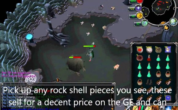 (giant rock crabs) [Runescape]