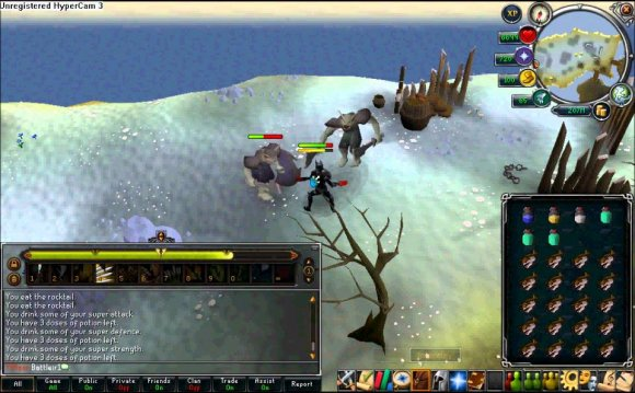 Evolution of RuneScape Combat