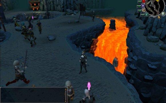 A RuneScape dungeon