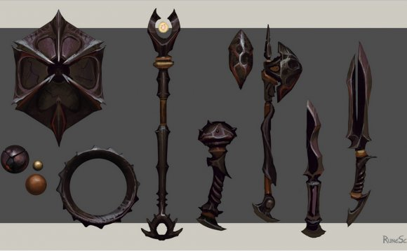 TzHaar - weapons