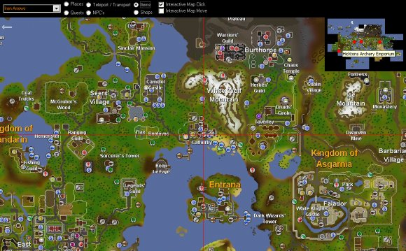 Old Runescape Map   Images