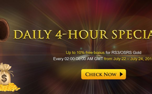 Daily 4-Hour Special Sale: Up