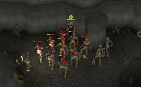 Fighting mummies in the Chaos