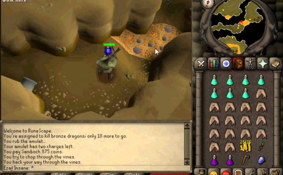 Runescape 2007 Bronze Dragon