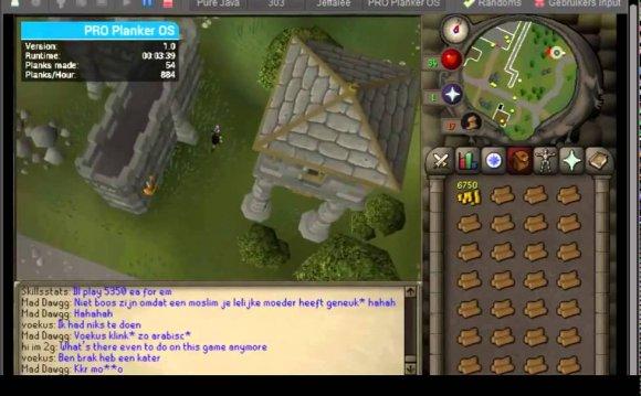 Runescape 2007 Planker bot