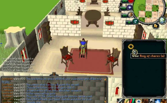 Runescape ring of charos uses