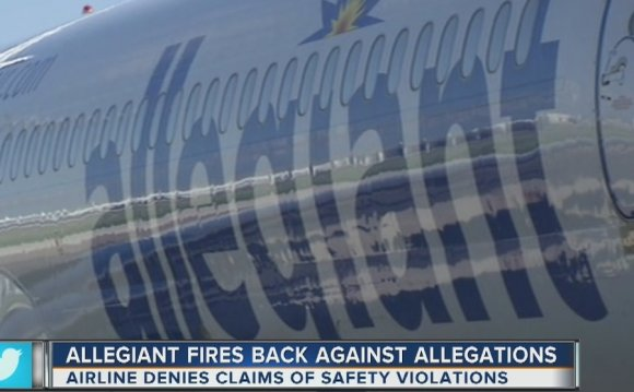 Airline denies claims of