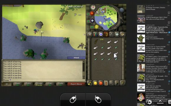 This is how I play Runescape