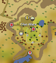 Clan wars map