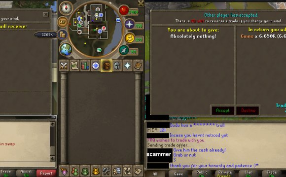 Runescape Gold transfer