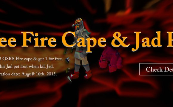 Old School Runescape Fire cape
