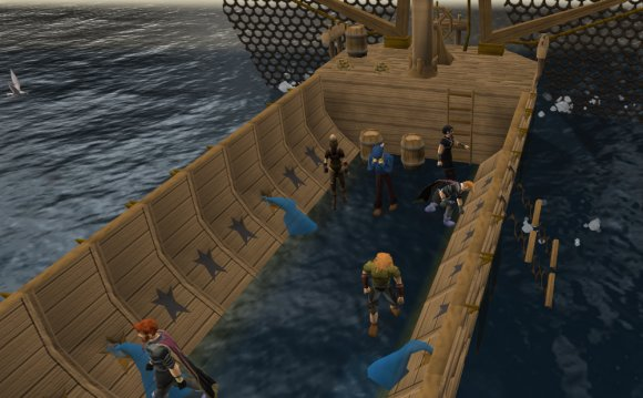 Runescape small fishing net