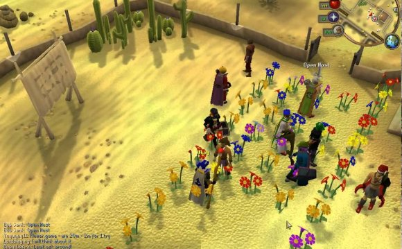 RuneScape flower patch