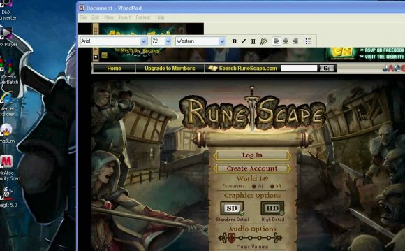 Play Runescape on Mac