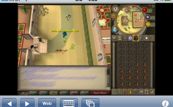 Can you play RuneScape on iPhone?
