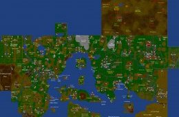Map of Runescape Classic