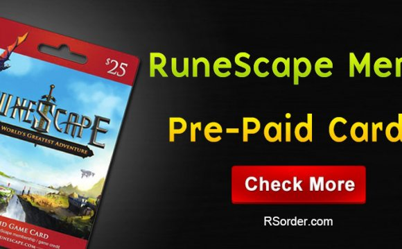 Where to Buy Runescape membership Cards?