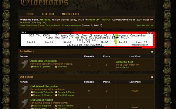 RuneScape old School Forums