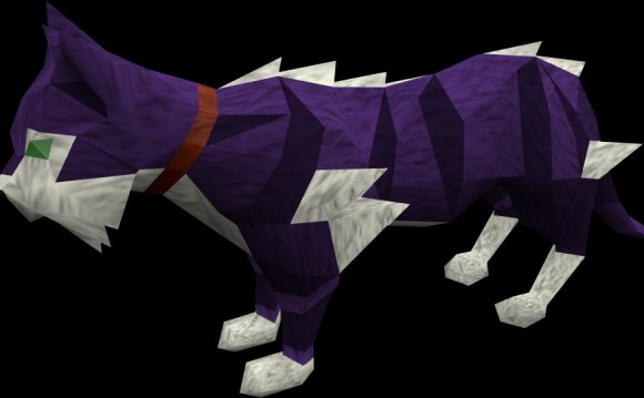 Runescape Purple Cat