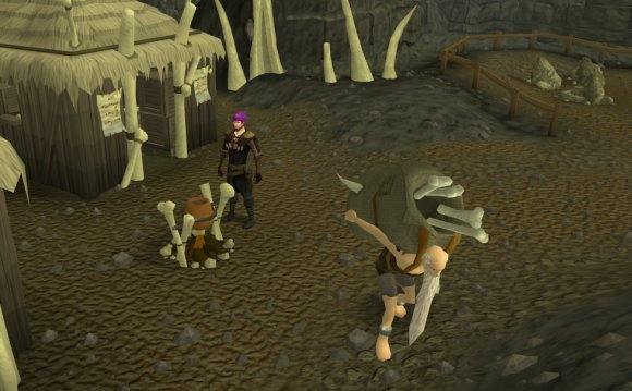 Runescape Rag and Bone Man