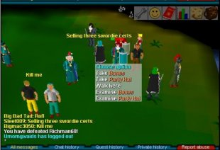 RuneScape Classic Staking