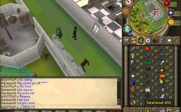 Runescape account trading