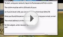 Best Runescape Account Hacking method - easy and safe