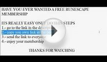 HOW GET FREE RUNESCAPE MEMBERSHIP NO PAYPAL NO SURVEYS