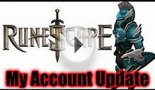 My Runescape account update video - July 2013