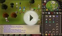 My Two Max Hits With Ags - AGS PKING - Runescape 2007