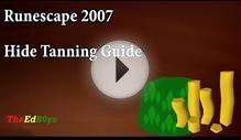 Runescape 2007 Money Making Guide | Tanning Hides
