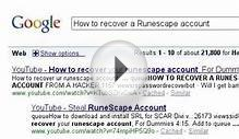 Runescape account hacked: Google Search Stories
