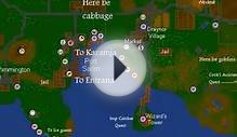Runescape Classic World Map