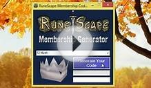 RuneScape Membership Code Generator (FREE Download
