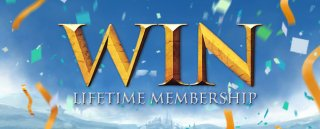 Win Lifetime Membership update post header