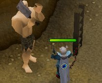 Zybez RuneScape Help's image of Player Killing a Hill Giant